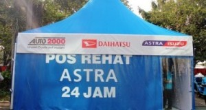 Mudik Capek di Jalan, Ini Dia 10 Titik Pos Rehat Astra Grup Jawa-Bali