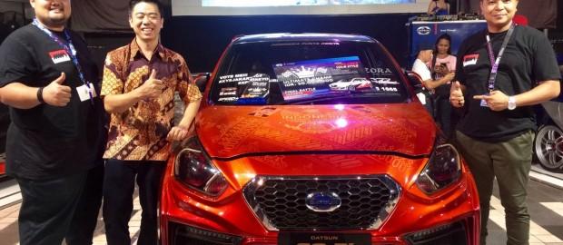 Datsun Go-PI Berornamen Sejarah Presiden dan Batik Raih Tahta Ultimate DXYS 2016