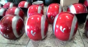Helm Custom: Meladeni Retail Reparasi, Hingga Konsumen Dealer Piaggio Vespa Bali