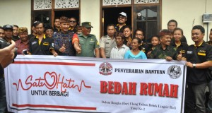 Salut!, Rayakan Kebersamaan 2 Tahun Bebek Lingsir Bali Serahkan Donasi Bedah Rumah