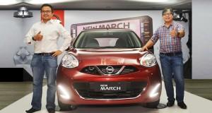Serangkaian Penyegaran New Nissan March