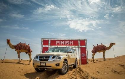 Nissan Kembangkan Camel Power, Ukur Performa Kendaraan di Medan Gurun