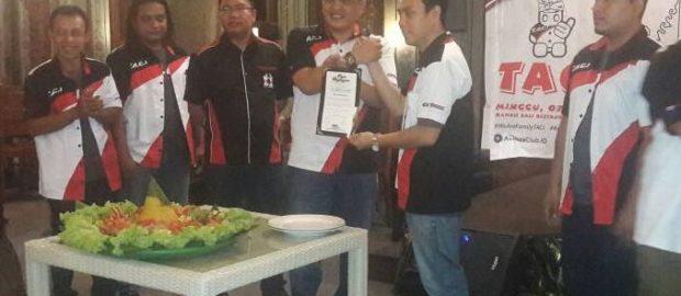 Deklarasi TACI Chapter Bali, Agung Toyota Dukung Penuh Program Club