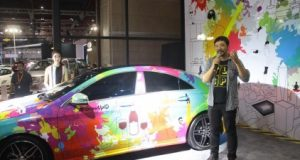 Usung Karya Seni Pada CLA200 AMG, Mercy Bidik Segmen Muda Dengan Konsep 'Grow Up'