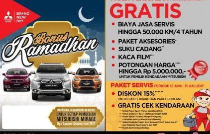 Genjot Penjualan, Mitsubishi Geber Promo Juni, Ssst! Pajero Sport DP Rendah Lhoo!
