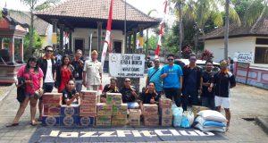 Hargai Jasa Pejuang Kemerdekaan, Jazz Fit Club Chapter Bali Donasi Sembako Bagi LVRI Jembrana