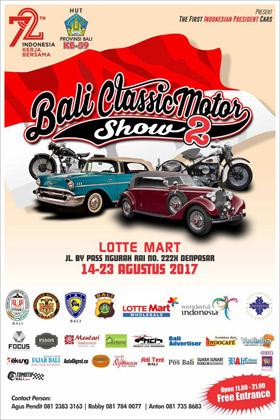 Bali Classic Motor Show 2