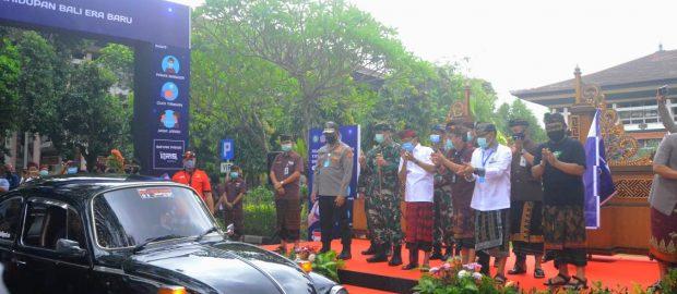 "Mobil VW Wagub Cok Ace Pimpin ""Touring"" Dimulainya Tata Kehidupan Bali Era Baru"