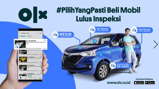 Centang Biru, Inovasi OLX Agar Pelanggan Mendapatkan Mobil Bekas Berkualitas